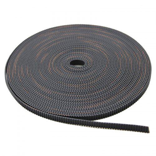 5M Open Timing Belt Width 6MM GT2 Belt Rubbr Fiberglass Cut to Length