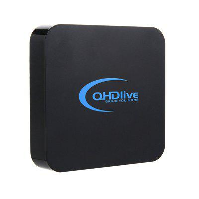 QHDlive Android Smart Network Player Set Top Box Image