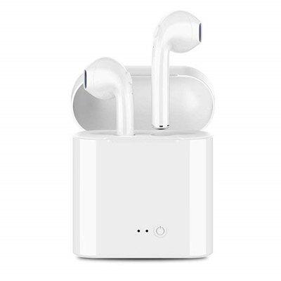 I7S mini dual - ear stereo vocal cord oplaadstation bluetooth headset