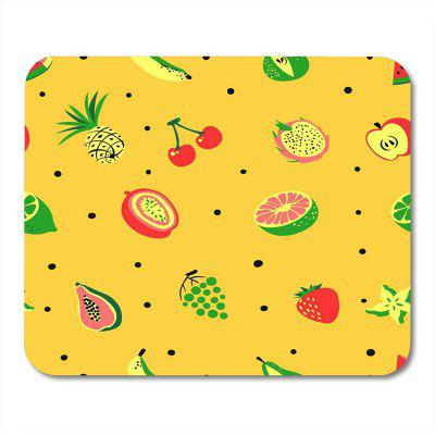 Fruit Color Natural Rubber Notebook Computer Mouse Pad