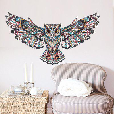 Owl Removable PVC Wall Sticker
