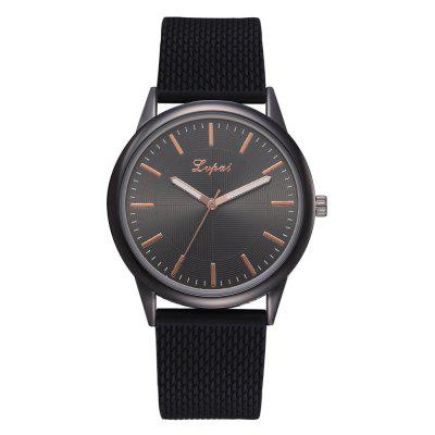 Ultra-Thin Fashion Big Dial Watch Brand New Silicone Quartz Watch