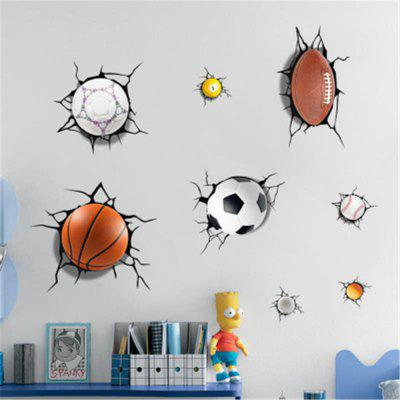 Simulazione 3D Wall Sticker Wall Wall