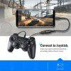 TIEGEM Micro USB OTG Cable Adapter Android USB 2.0 OTG Connector - BLACK