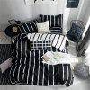 OMONNES Nordic Age of Household Aloe Cotton Quilt Sets - JET BLACK