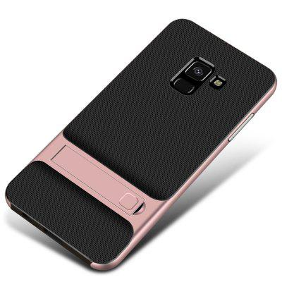 Case for Samsung Galaxy A8 2018 Shockproof with Stand Back Cover