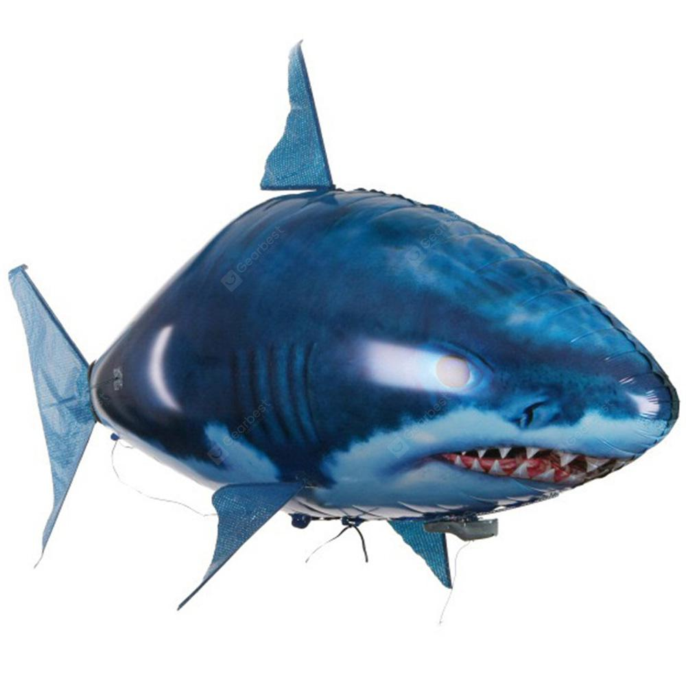 Remote Control RC Shark Toys Air Swimming Fish Infrared Flying Air Balloons Gift