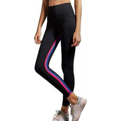 Damen Color Stripe Laufhose