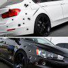 3D Waterproof Personal Bullet Hole Simulation Sticking Scar Vehicle - BLACK