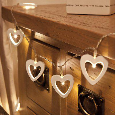 Love Small String Battery Box Light Room Bedroom Layout Lights