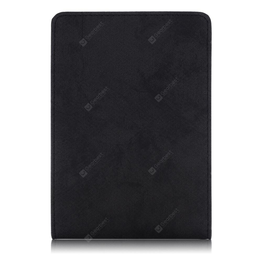 Inner Frame Front Support Solid Color Leather Case for Kindle Paperwhite
