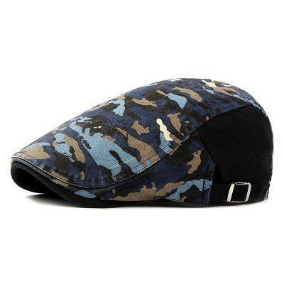 Beret men and women spring and summer trend camouflage cap female fashion breath
