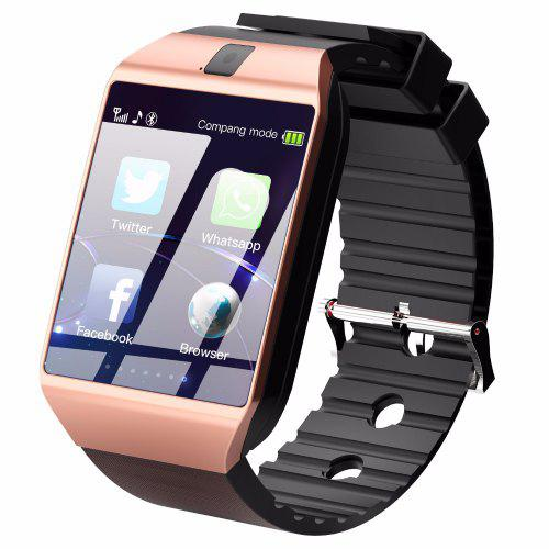 08dc072c599 Bluetooth Smart Watch DZ09 Android Phone Call Relogio 2G GSM SIM TF Card  Camera