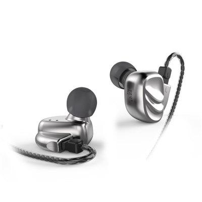 BQEYZ KC2 Earphone 0.78mm Removable Cable Metal Shell Earbuds