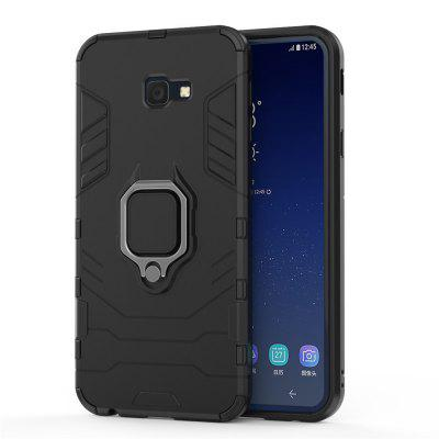 Ring Buckle Kickstand Armor Case voor Samsung J4 Plus