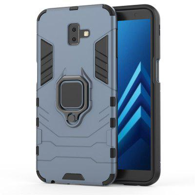 Ring Buckle Kickstand Armour Case voor Samsung J6 Plus / J6 Prime