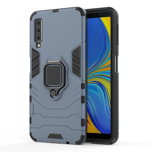 Ring Buckle Kickstand Armor Case for Samsung A7 2018 / A750