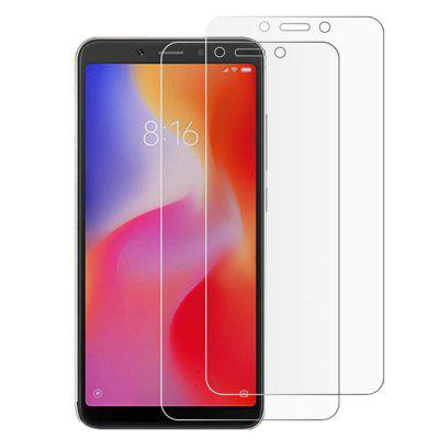 2PCS 9H Tempered Glass Screen Protective Case forXiaomi  Redmi 6 / 6A