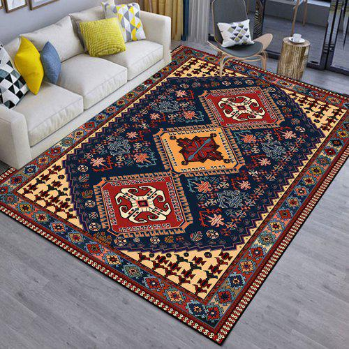 Ethnic Style Floor Carpet Vintage