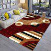 Rectangle Mat Modern Color Block Creative Delicate Bedroom Living Room Floor Ma - MULTI-A