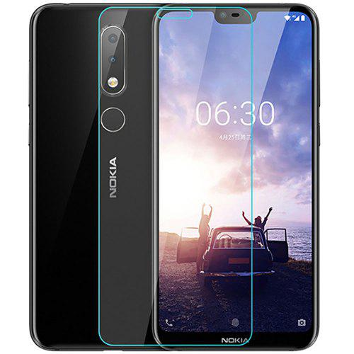 2PCS Tempered Glass Screen Protector Film for Nokia X6 2018