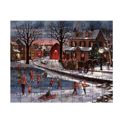 Winter Fun Jigsaw Puzzle Toy
