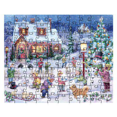The Children Are Snowballing jigsaw Toy