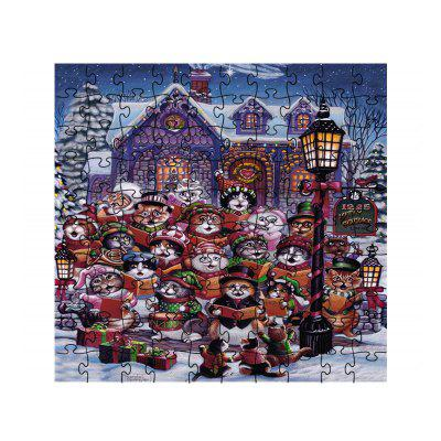 Christmas for Cats Jigsaw Toy