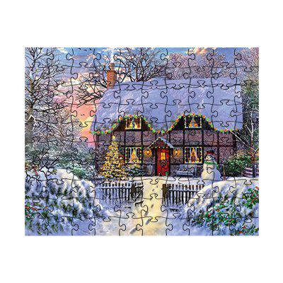 Christmas Forest House puzzel Speelgoed