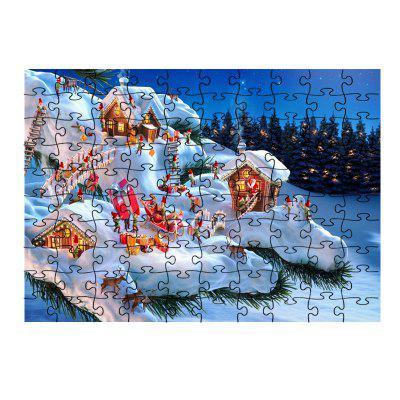 Jigsaw Christmas for Dwarfs Toy