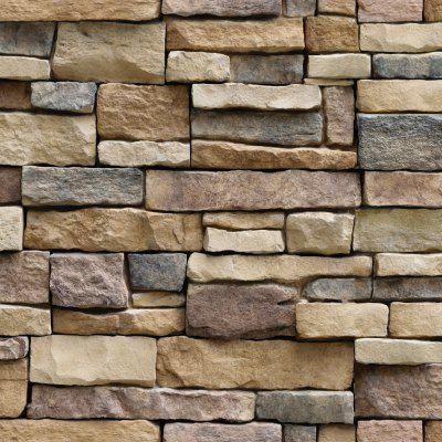Simulation Rock Brick Decoration Wallpaper Stickers