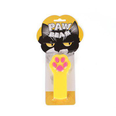 Pegadas Laser Pen Toy Tickle Cat Vara Eletrônico Laser Tickle Cat Toy