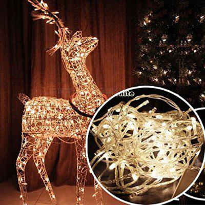 10m 100LED Fairy String Light Natale DC 12V Jack Matrimonio Giardino Ghirlanda