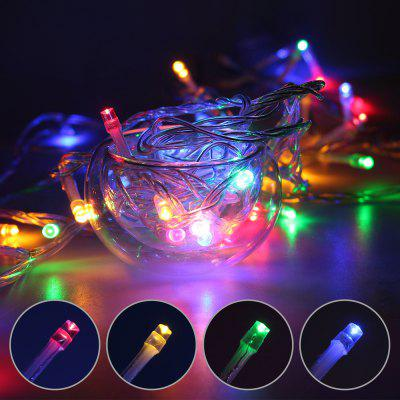 10M 100LED Fairy String Light Navidad DC 12V Jack Wedding Garden Garland Tree
