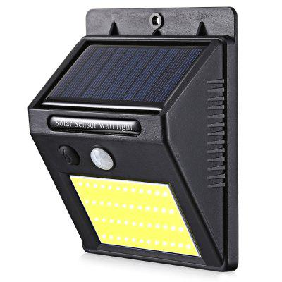 48 COB LED Solar Power Light Human Infrared PIR Motion Sensor Wall Lamp