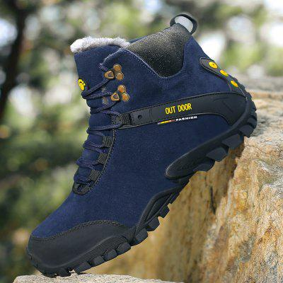 High-Top Outdoor Shoes Hiking Shoes Plus-Size Sports Shoes Cotton Shoes