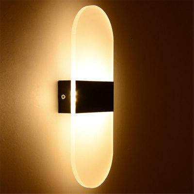 Rounded Acrylic Aisle Lights Wall Lights Simple Bedside Bedroom Lights