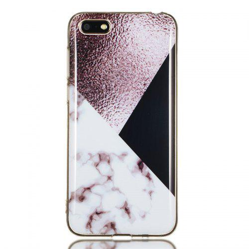 detailed look 8764e a0597 Candy Color Marble Soft TPU Phone Case for Huawei Y5 2018 / Y5 Prime 2018