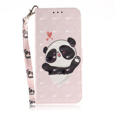 Happy Bear Leather Case for Huawei Glory 10