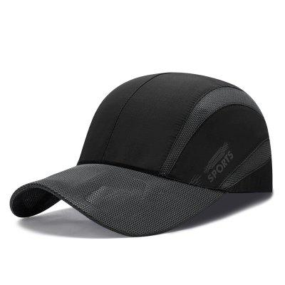 Summer light and breathable mesh baseball cap men and women outdoor quick-drying
