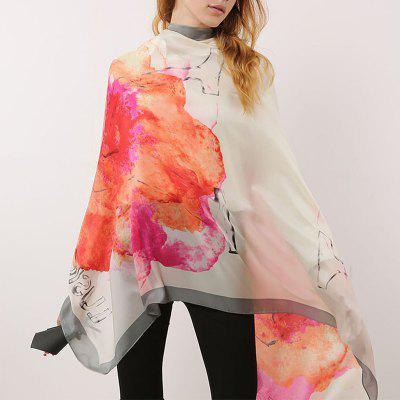 Sunset Pattern Women Soft Beautiful Scarf