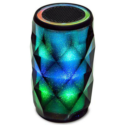 Touch Control HiFi Bluetooth Speaker with Colorful LED Light