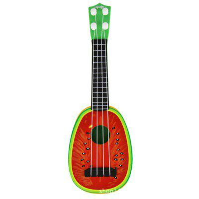 Kids Fruit Ukulele Guitar Four Strings Muziekinstrument Educatief Speeltje