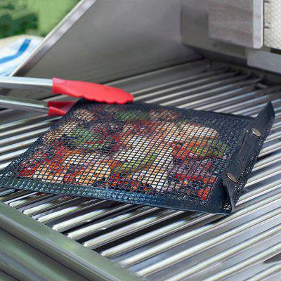 Non-Stick Mesh Grilling Bag Outdoor Camping BBQ Bake Net