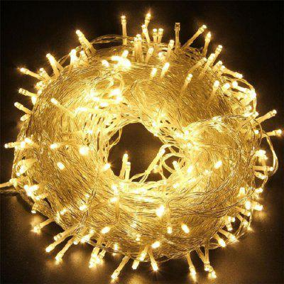 10 M 80LEDS USB Transparent Line String Light Decoration DIY Holiday Christmas