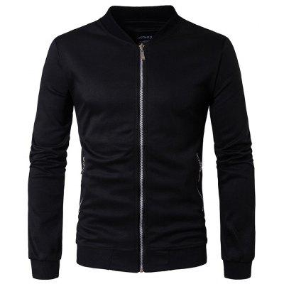 Men's Casual Slim Cardigan Collar Jacket
