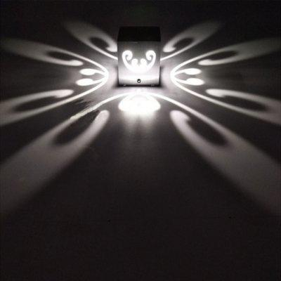 Creative wall lamp with butterfly wall lamp