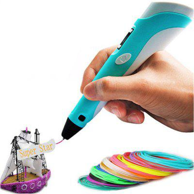 3D Printing Pen 2ND Crafting Doodle Tekening Arts Printer Modeling PLA / ABS