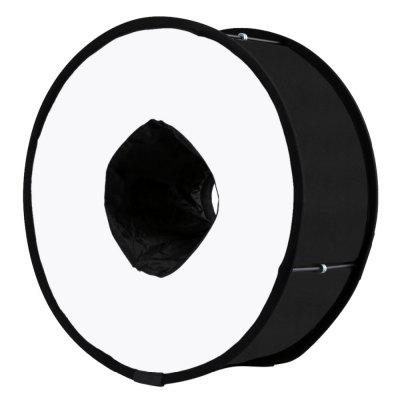 PULUZ 45cm Ring Softbox Speedlight Round Style Flash Light Shoot Soft box
