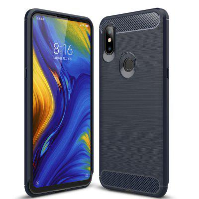 Luxe Carbon Soft Case voor Xiaomi Mi Mix 3